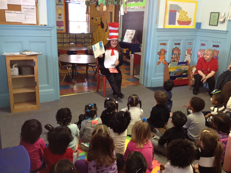 Celebrating Dr. Seuss' birthday in March