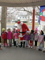 Santa visits the children at Start-Rite Nursery School